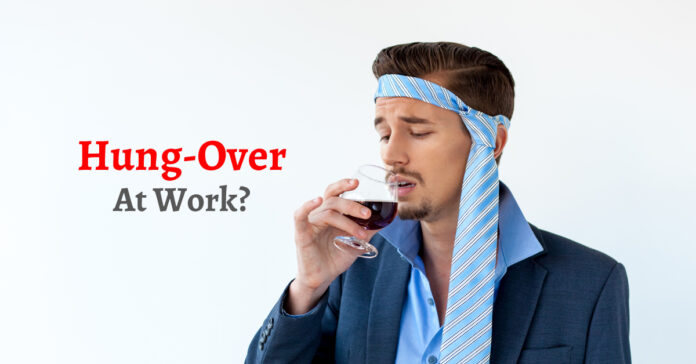 How To Not Let Anyone At Work Know About Your Hangover!